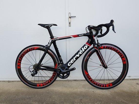 Cervelo S2 - Shimano Ultegra 6700 - Ursus Team Carbon Laufradsatz - Rh:58