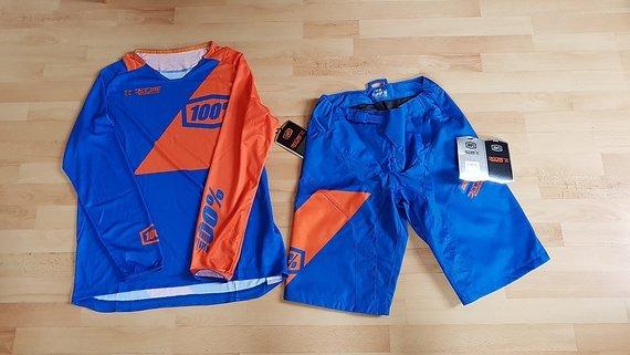 100% R-Core Kombi Shorts 32 / Jersey L