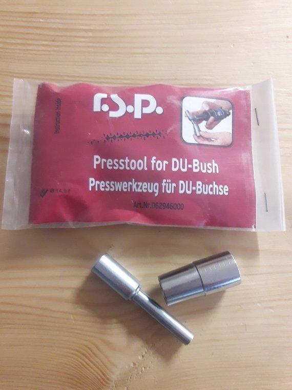 RSP Press Tool für DU Buchsen 14,9mm