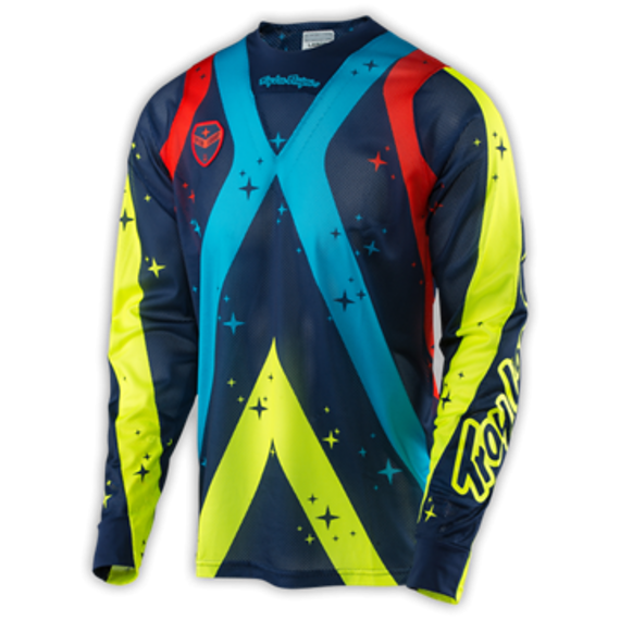 "Troy Lee Designs SE AIR JERSEY ""Gr. L"" PHANTOM NAVY"