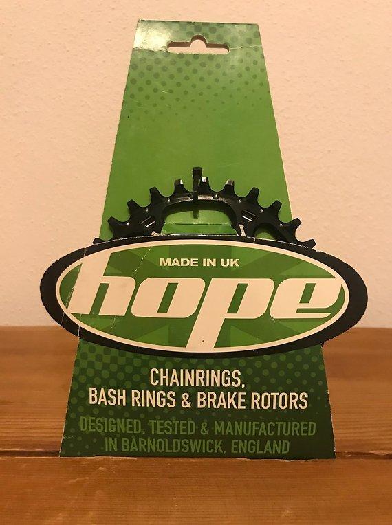 Hope Spiderless Retainer Ring 30 Zähne