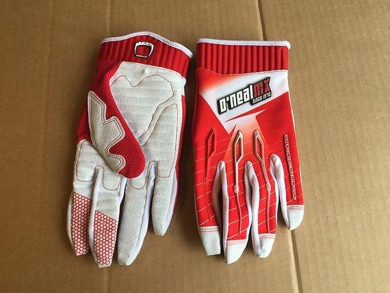 O'Neal Rider MX Grösse L ROT Handschuhe Crosshandschuhe Freeride Enduro DH