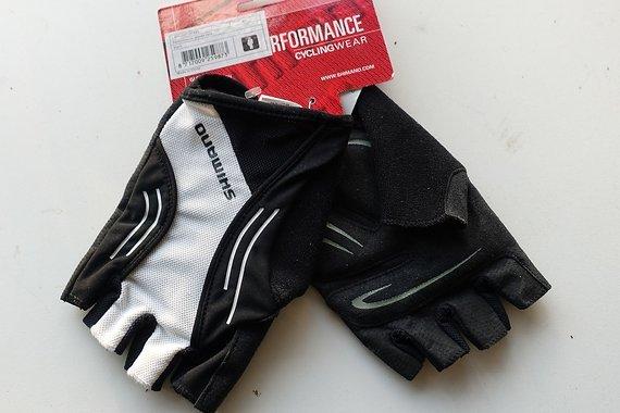 Shimano Handschuhe Rennrad Performance weiss/schwarz - Neu - XXL