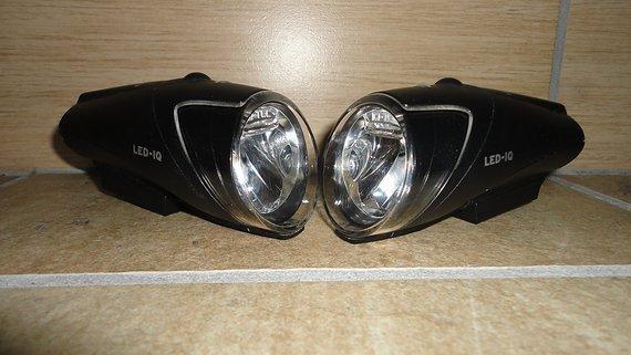 Busch & Müller 2 x LED-Scheinwerfer Ixon IQ
