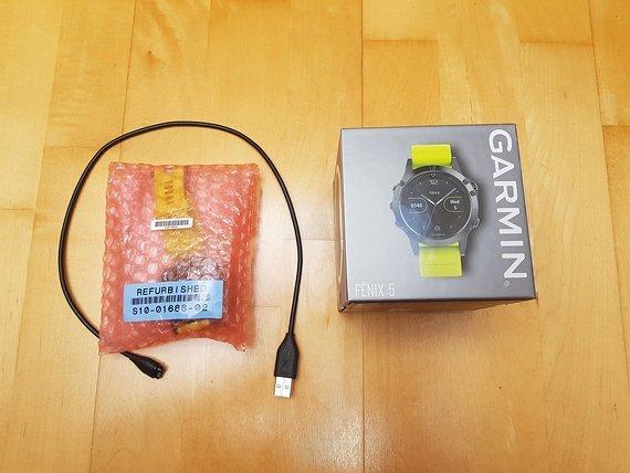Garmin Fenix 5, unbenutztes Tauschgerät vom Hersteller