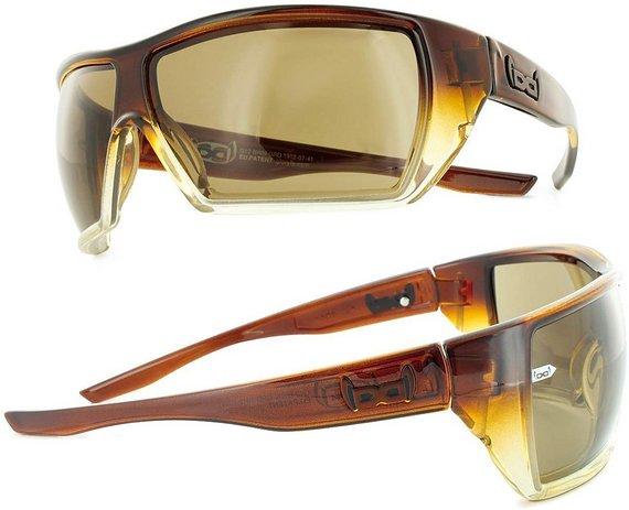 Gloryfy G12 Sonnenbrille Brown Unzerstörbar