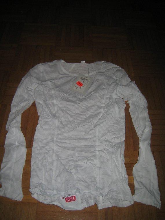 Gore Bike Wear Unterhemd - Gore Bike Wear Lady langarm weiß Gr.XS-34!NEU!