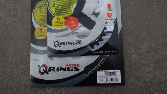 Rotor Q-Rings QX2 XTR9000,9020/XT8000 2x11 22/36z BCD64/96