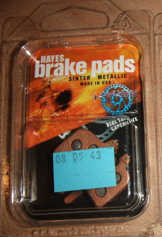 Hayes 1 Paar Bremsbeläge HFX Sinter Metallic