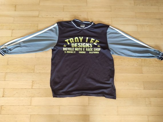 Troy Lee Designs Super Retro Jersey schwarz/grau, S