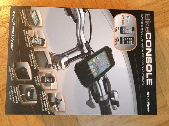 Tiga Bike Console für I-Phone 4, 4S, 3