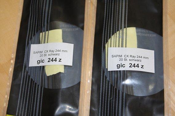 Sapim 🇧🇪 Cx-Ray Speichen 🇧🇪 244mm 💪 schwarz 🏁 40 Stück 🆕