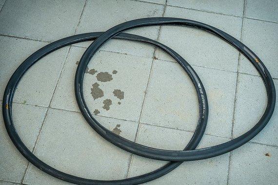 Giant Gavia AC0 tubeless 25 mm Reifen Set Rennrad Rennradreifen Schwalbe Pro One