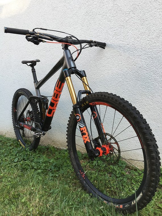 Cube Fritzz 180 HPA SL Enduro/Freeride 20 Zoll