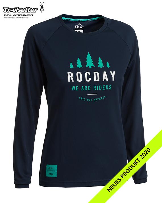 Rocday PATROL WMN Jersey dark blue Gr. XS