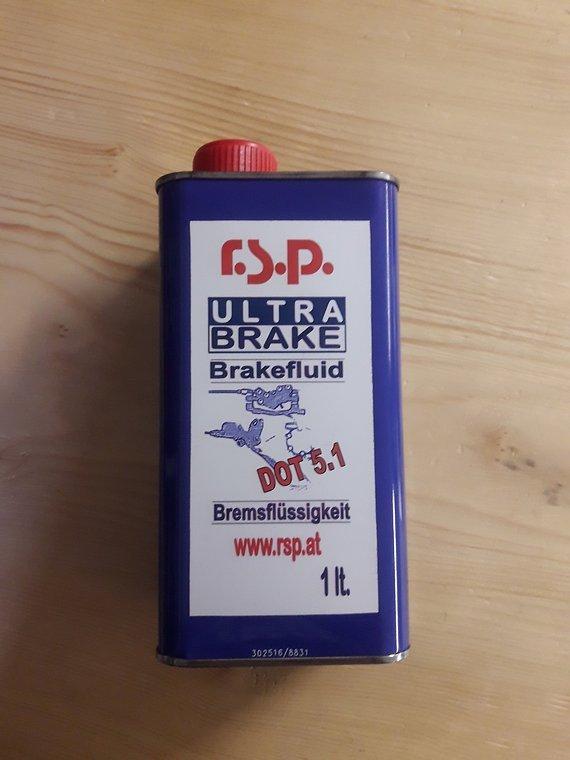 RSP 1 Liter Dot 5.1 Brake Fluid Bremsflüssigkeit