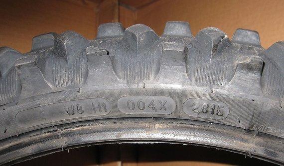Michelin StarCross 5 Soft 80/100-21 MX Reifen, defekt