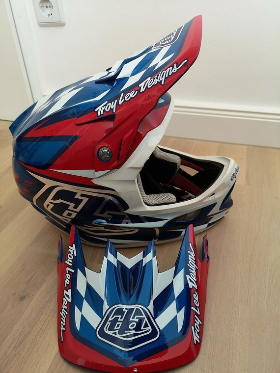 Troy Lee Designs D3 Team America - Limited Edition (Sehr rar)