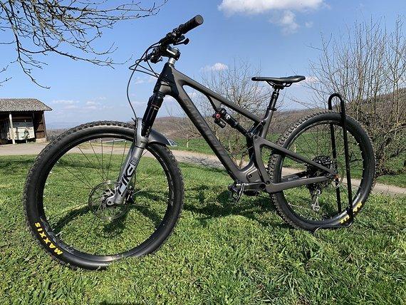 "Santa Cruz 5010 CC Carbon 2019 Größe M 27,5"" Pike Ultimate oder Rahmenset"