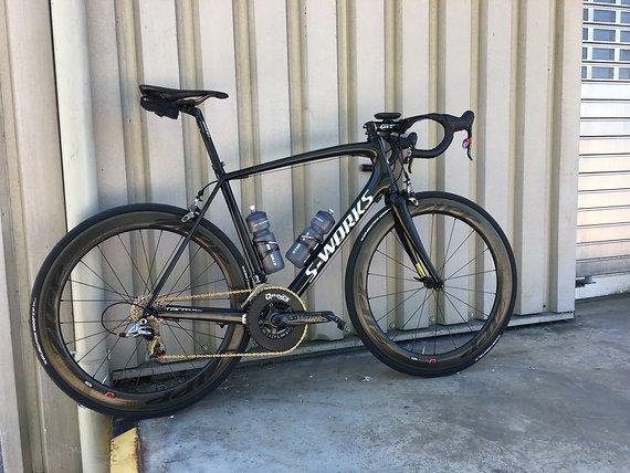 Specialized S-Works Tarmac SL3 Black-Edition RH 58