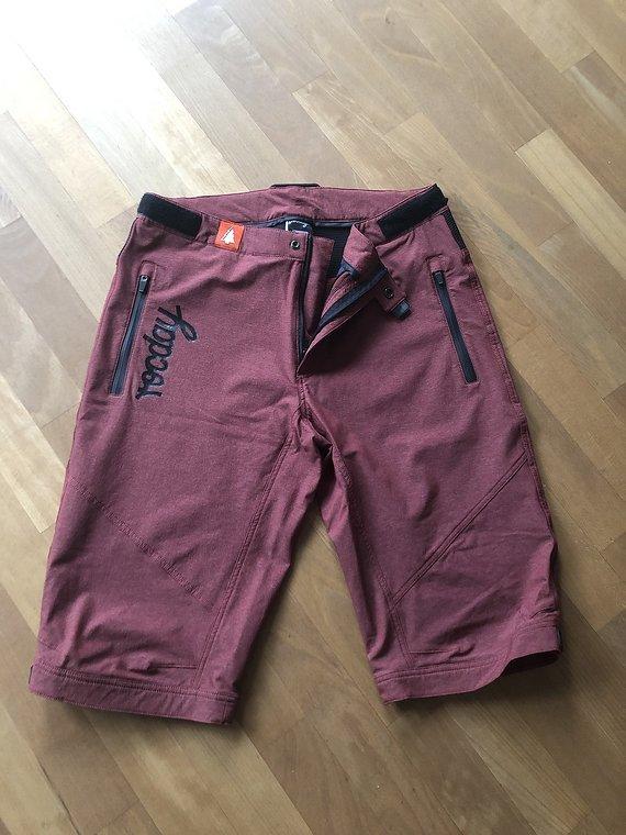 Rocday ROC Shorts Größe XL Dark Red Melange