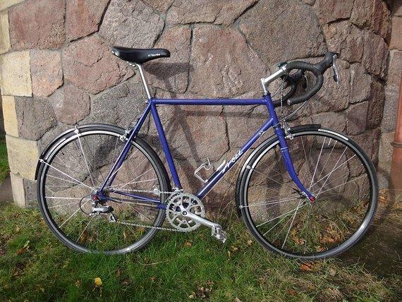 Nöll muffengelötetes klassisches Rennrad/ Tourenrad RH 56 cm