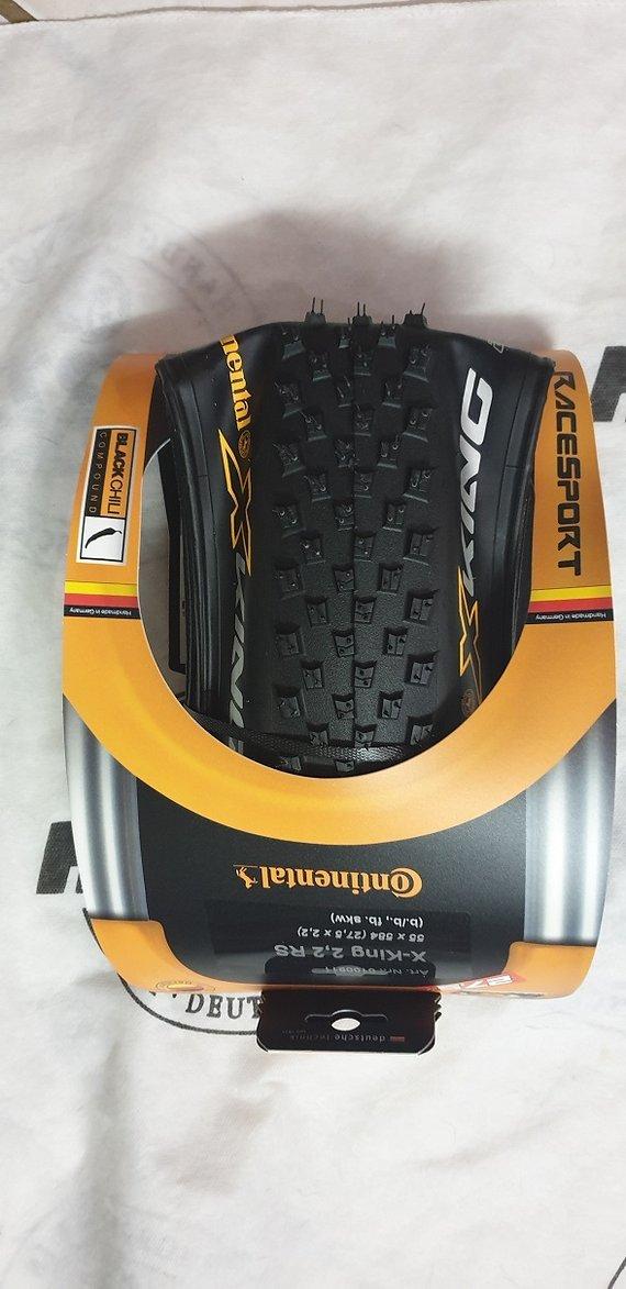 Continental X-King Race Sport 27,5x2.2 Faltreifen Black Chili Neu