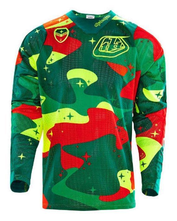 Troy Lee Designs SE Air Jersey Cosmic Camo Gr. M *NEU*