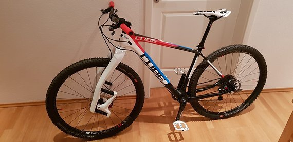 Cube C:68 Hardtail State of the art - Racebike - 8.58 Kg o. Pedale