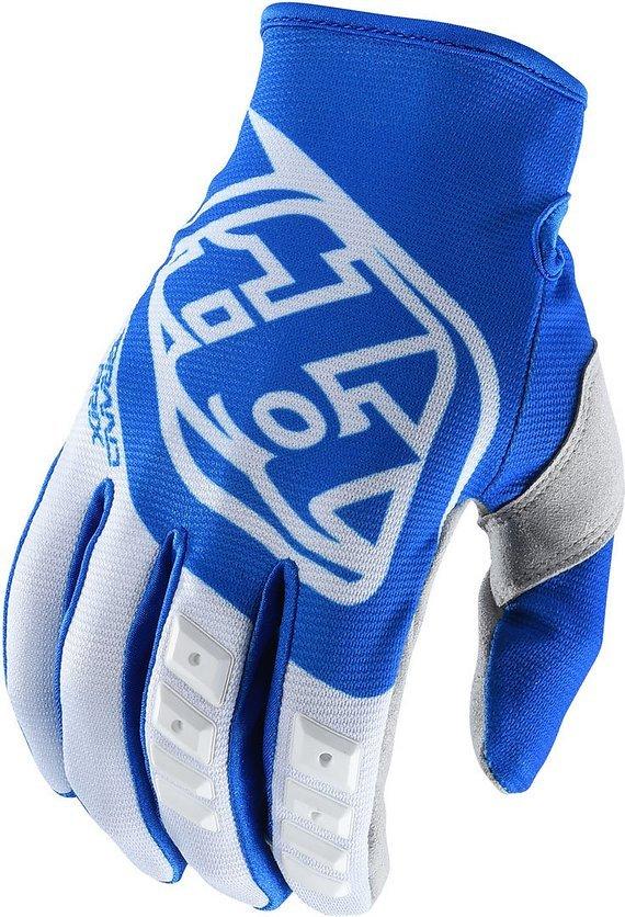 Troy Lee Designs GP Gloves Handschuhe blue/white Gr. S *NEU*
