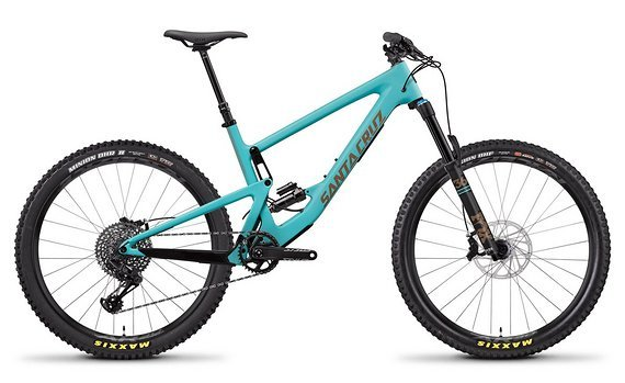Santa Cruz Bronson, S kit, Large, Industry blue
