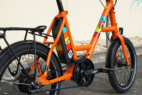 I:sy DRIVE S8 ZR Nexus E-Bike REINORANGE Bosch Active Line Plus