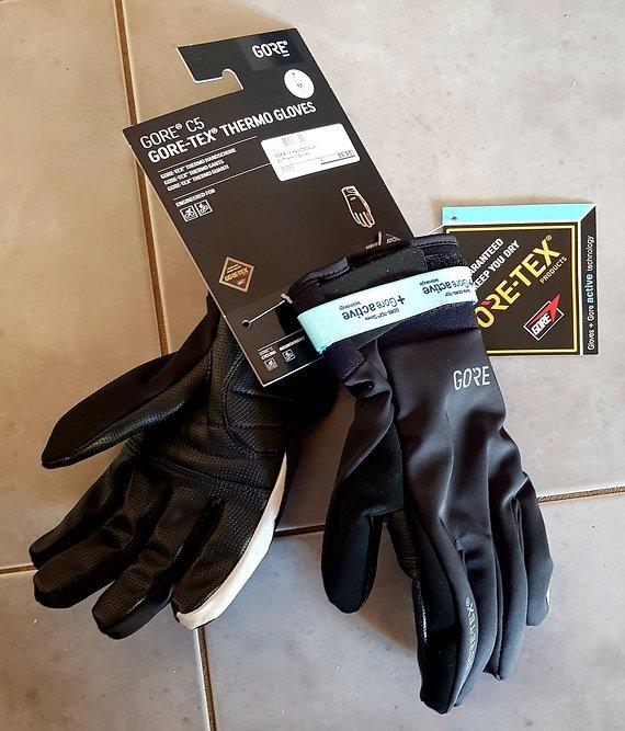 Gore C3 Gore-Tex® Thermo Gloves MEDIUM ***NEU***