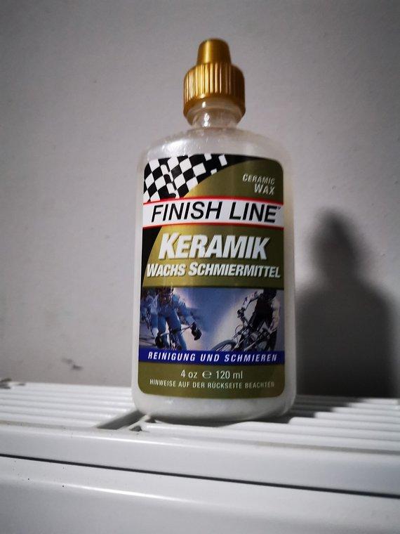 Finish Line Keramik Wachs Schmiermittel NEU