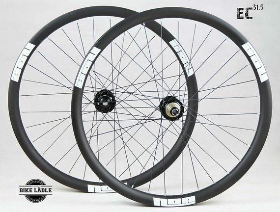 "NOA EC31,5 Enduro Carbon Laufradsatz 27,5"" / 29"" mit Noa 120 Klicks Naben / Bike -Lädle Laufradbau"