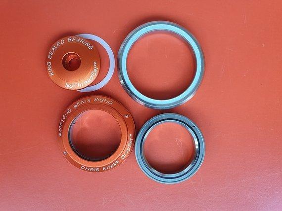 Chris King DROPSET ™ 1 IS 41mm 45X45 / 52mm 45X45 orange