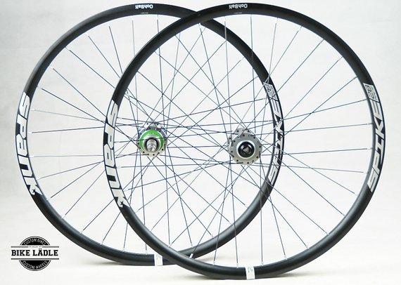 Spank Spike 28 / Singlespeed Laufradsatz mit Hope Pro 4 Naben / Bike-Lädle Laufradbau