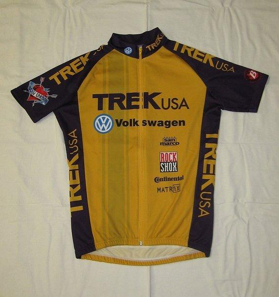 """Trek retro-Kult: TREK Team-Trikot """"Rocket Boy"""", OCLV, Gr. L/4/50"""