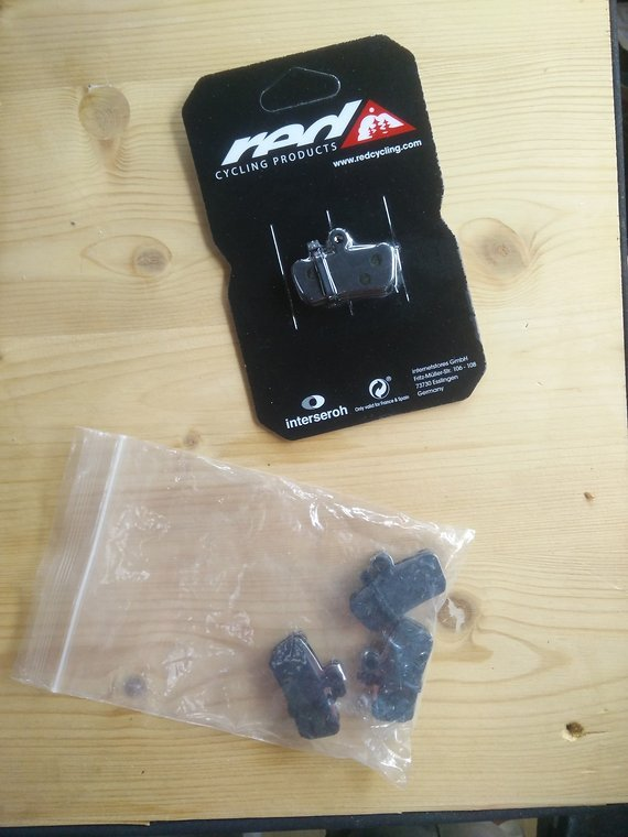 Red Cycling Products Bremsbeläge Red Cycling Guide, X0 Trail, Avid 7
