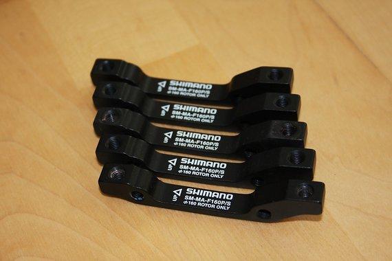 Shimano 🇯🇵 SM-MA-F160P/S 🇯🇵 VR 160mm 🎌 HR 140mm 🆕 NEU 🌟GIVE-AWAY🌟