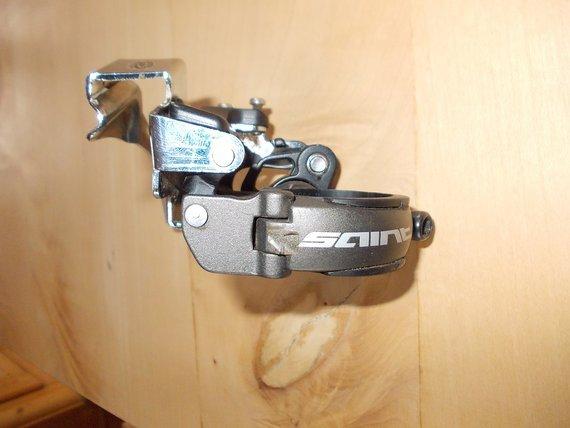 Shimano Saint Umwerfer FD-M817 Top Swing, Dual Pull, 83 mm Gehäuse
