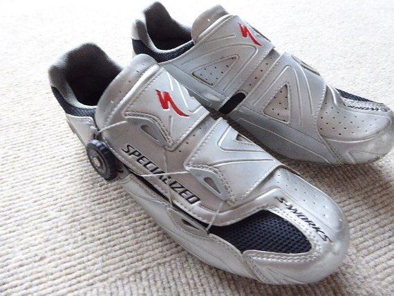 Specialized S-Works Carbon Schuhe, Größe 44, 28cm Sohlenlänge