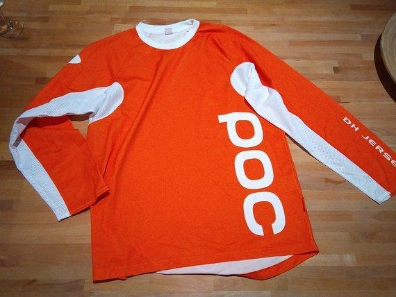 POC Downhill Jersey Orange Größe M