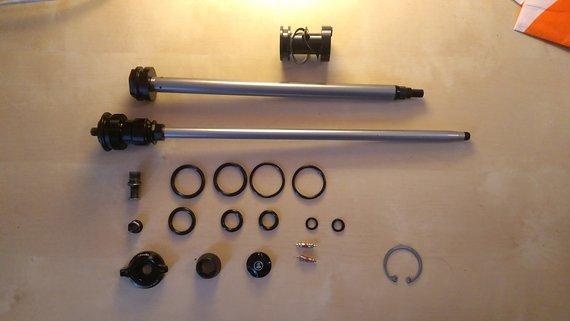 """RockShox Luftfedereinheit Dual Postion Air (130-160mm), Lyrik 26"""""""