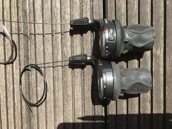 SRAM X0 Drehgriffschalter 3x9 v&h