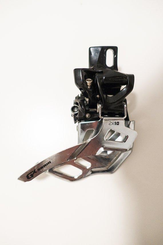 SRAM GX Umwerfer 2x10 High Direct Mount Bottom Pull 36-22 | 38-24 Zähne