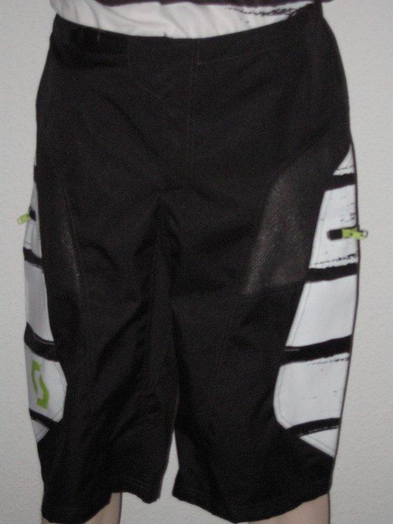 Scott Freeride-Shorts ohne Polster in schwarz/weiß (M) NEU