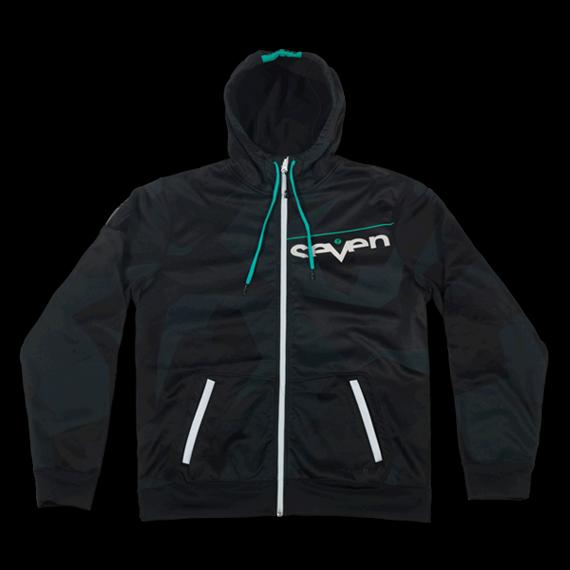 Seven Zero Zip-Up Black Hoodie / Jacke Gr. XL *NEU*