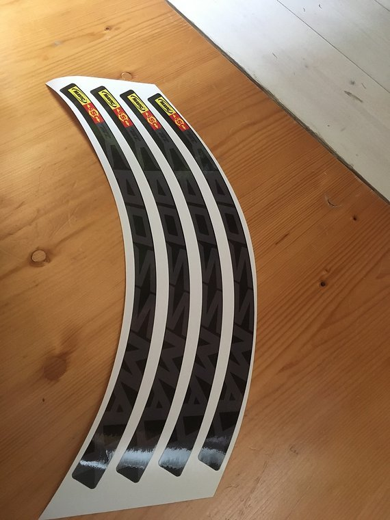 Mavic Crossmax SL Decals 12x Aufkleber