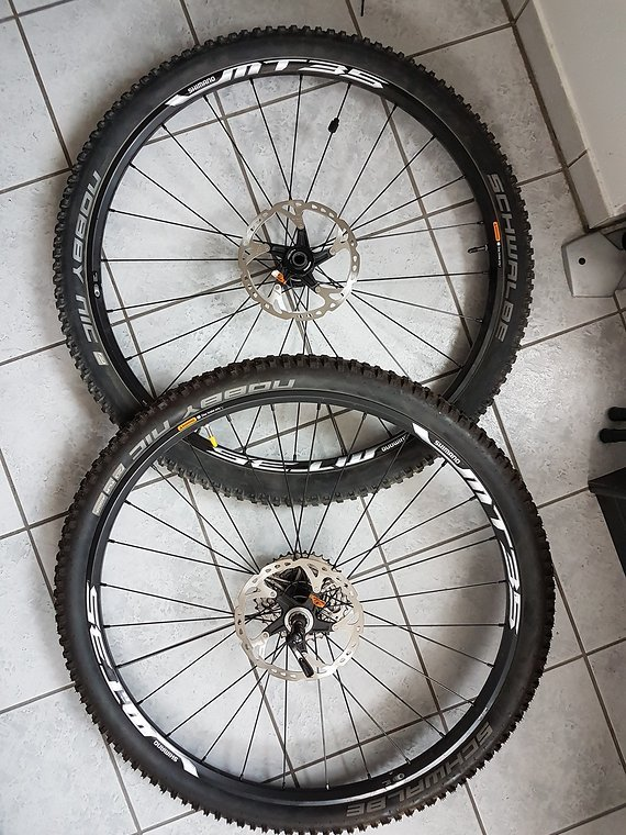 Shimano Laufradsatz Shimano MT 35